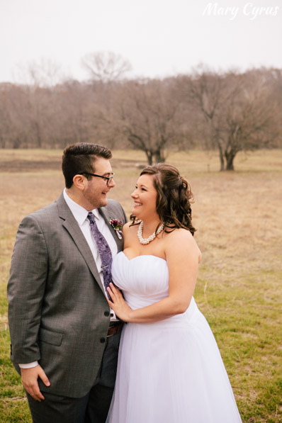 Tara & Bryan's First Look at their Heard Museum wedding in McKinney, Texas | Mary Cyrus Photography - Portrait & Wedding Photographer serving Dallas & beyond