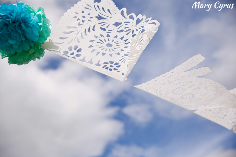 Papel Picado at a Cinco de Mayo Wedding | Mary Cyrus Photography - Weddings & Portraits in Dallas, Texas & Beyond
