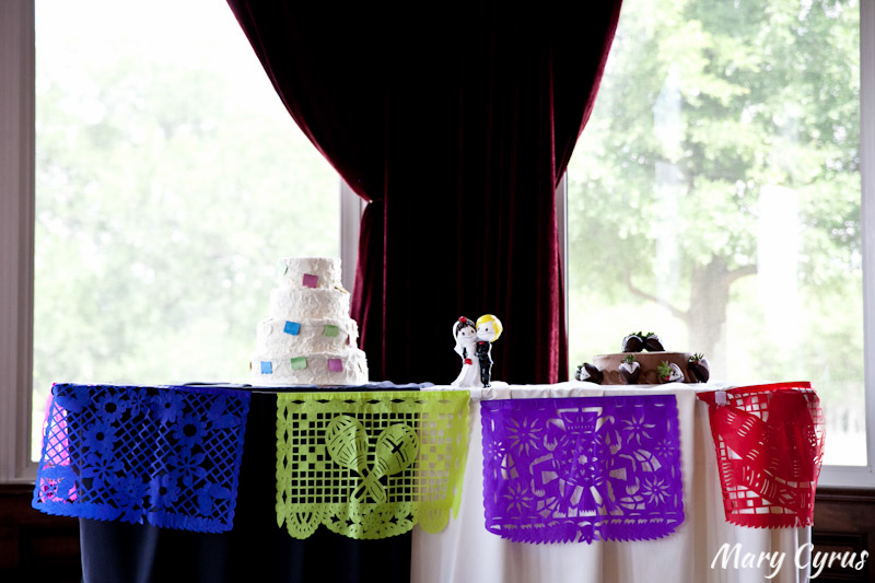 Papel Picado & Sugar Skulls Decorate this Cinco de Mayo Wedding | Mary Cyrus Photography - Weddings & Portraits in Dallas, Texas & Beyond