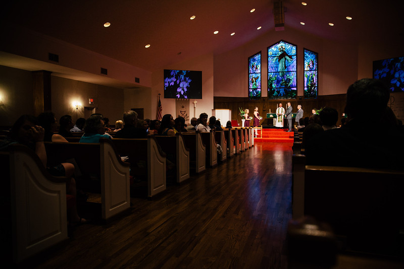 Christina & Andrew's Wedding at Our Savior Lutheran Church in McKinney, Texas | Wedding & Portrait Photography by Mary Cyrus in Dallas & Beyond