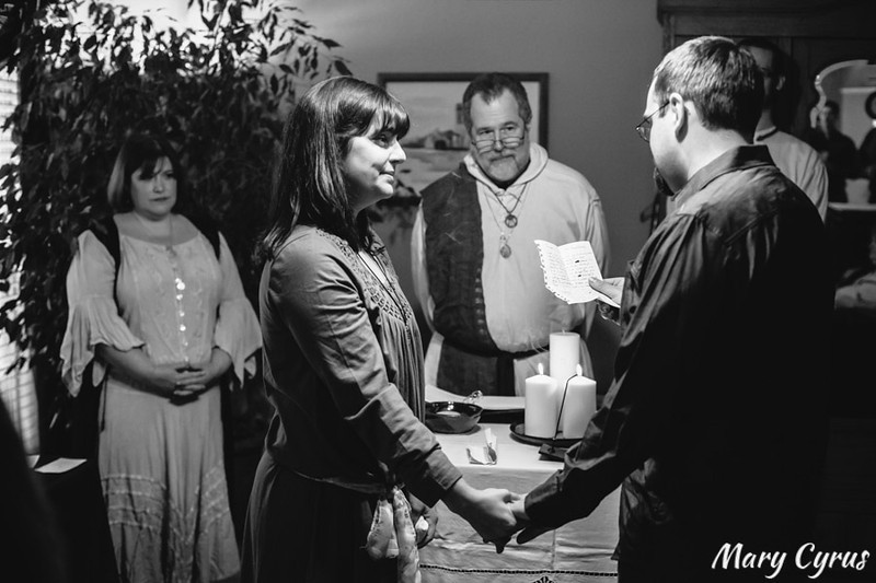 Florencia & Joseph's Handfasting Ceremony: Photos by Mary Cyrus Photography in Dallas, Texas