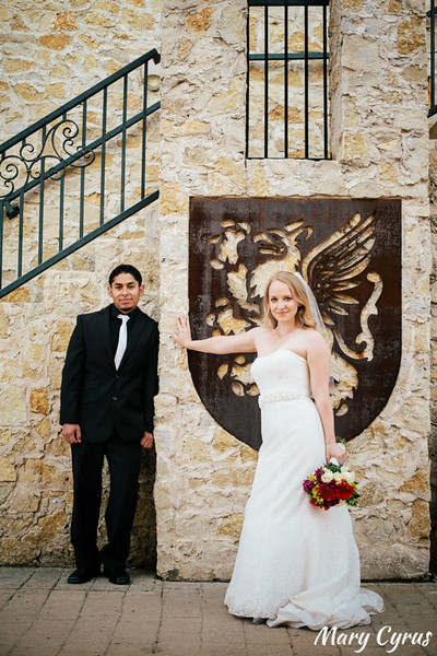 Couple's Portraits by Mary Cyrus Photography at Adriatica in McKinney, Texas