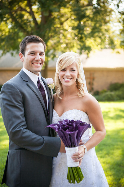 Purple Calla Lilies for the bride at Jen & Michael's Lindale & Hideaway, Texas Wedding | ©Mary Cyrus Photography - Portraits & Weddings in Dallas & Beyond