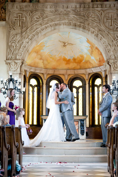 The first kiss! | Wedding Photography in Dallas, Texas & Beyond by Mary Cyrus