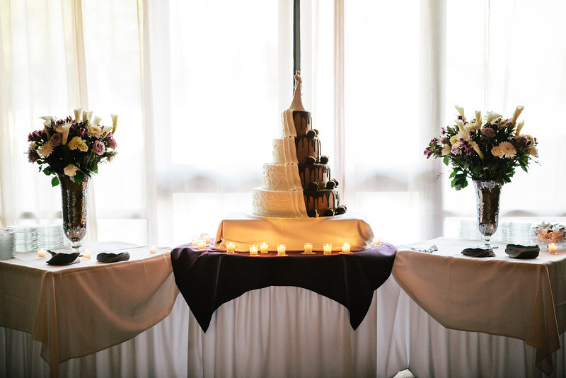 A unique cake by Village Bakery in Tyler at Jen & Michael's Lindale & Hideaway, Texas Wedding | ©Mary Cyrus Photography - Portraits & Weddings in Dallas & Beyond
