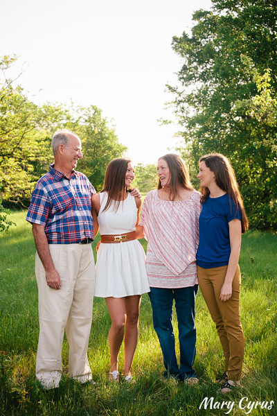 Farberow Family Portraits by Mary Cyrus Photography at Arbor Hills in Plano, Texas