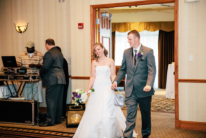 Christina & Andrew's Wedding Reception at the Hilton Garden Inn in Allen, Texas | Wedding & Portrait Photography by Mary Cyrus in Dallas & Beyond