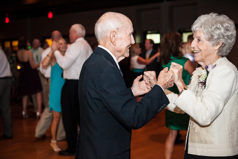 The bride's grandparents tear up the floor at Jen & Michael's Lindale & Hideaway, Texas Wedding | ©Mary Cyrus Photography - Portraits & Weddings in Dallas & Beyond